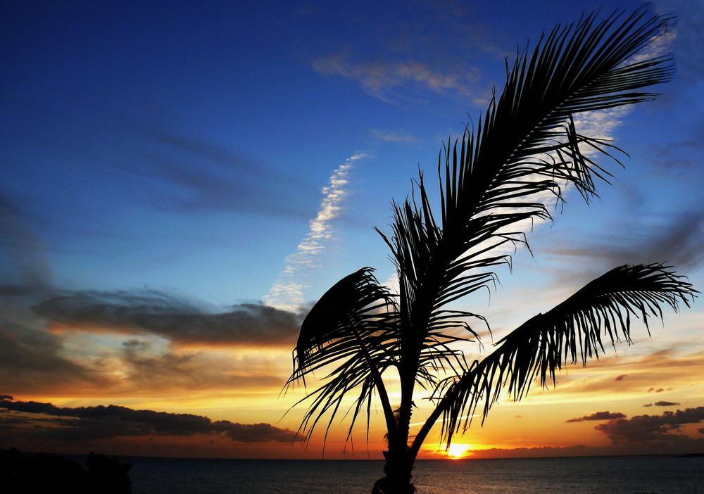 Sonnenuntergang auf Lanzarote (Playa Blanca) - 1