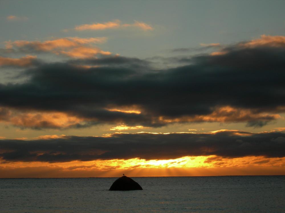 Sonnenuntergang auf Lista (Norwegen)