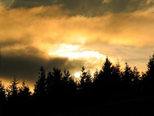 Sonnenuntergang auf Luban