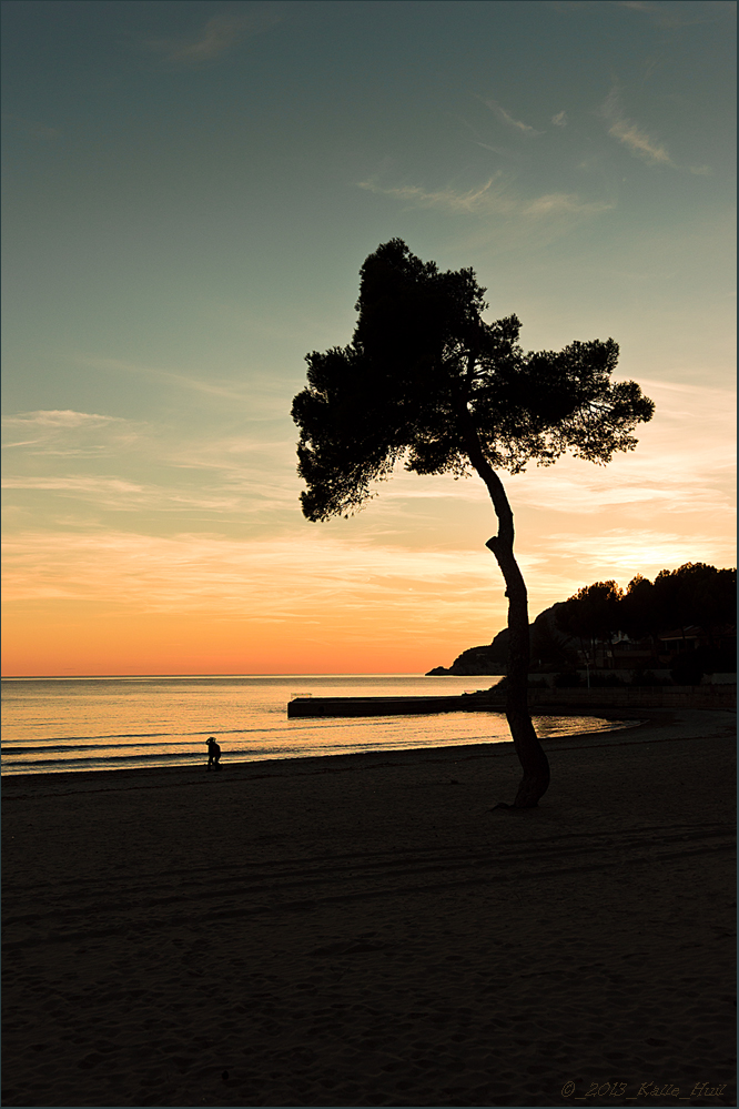 ...Sonnenuntergang auf Mallorca...