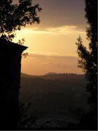 Sonnenuntergang auf Mallorca im Herbst