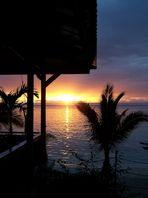 Sonnenuntergang auf Mauritius
