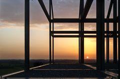 Sonnenuntergang auf Norddeutschland