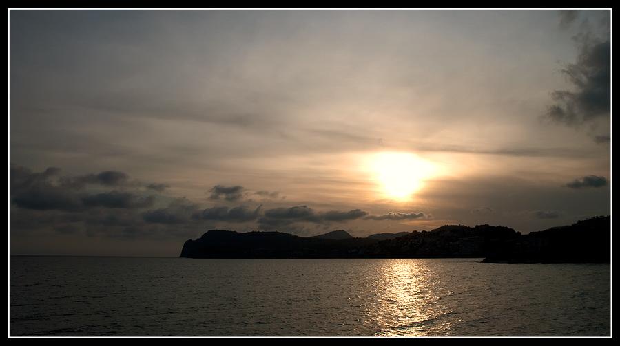 Sonnenuntergang auf Paguera