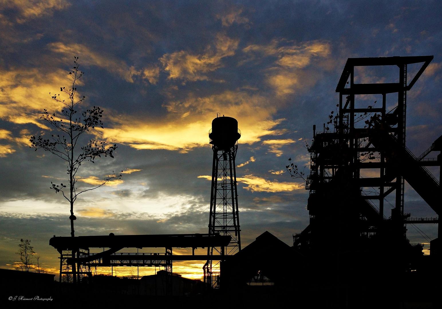 Sonnenuntergang auf Phoenix-West