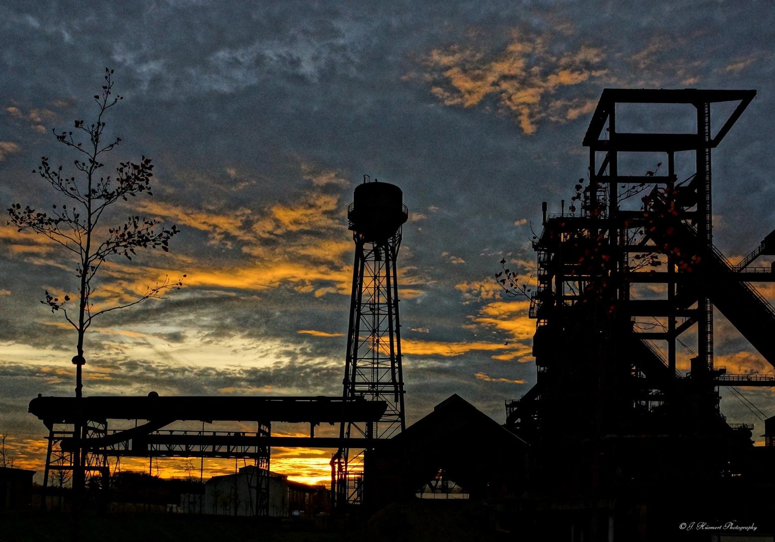 Sonnenuntergang auf Phoenix-West in HDR