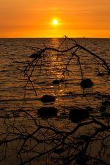 Sonnenuntergang auf Poel