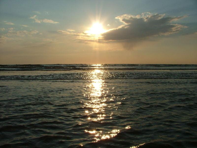 Sonnenuntergang auf Römö Teil 2