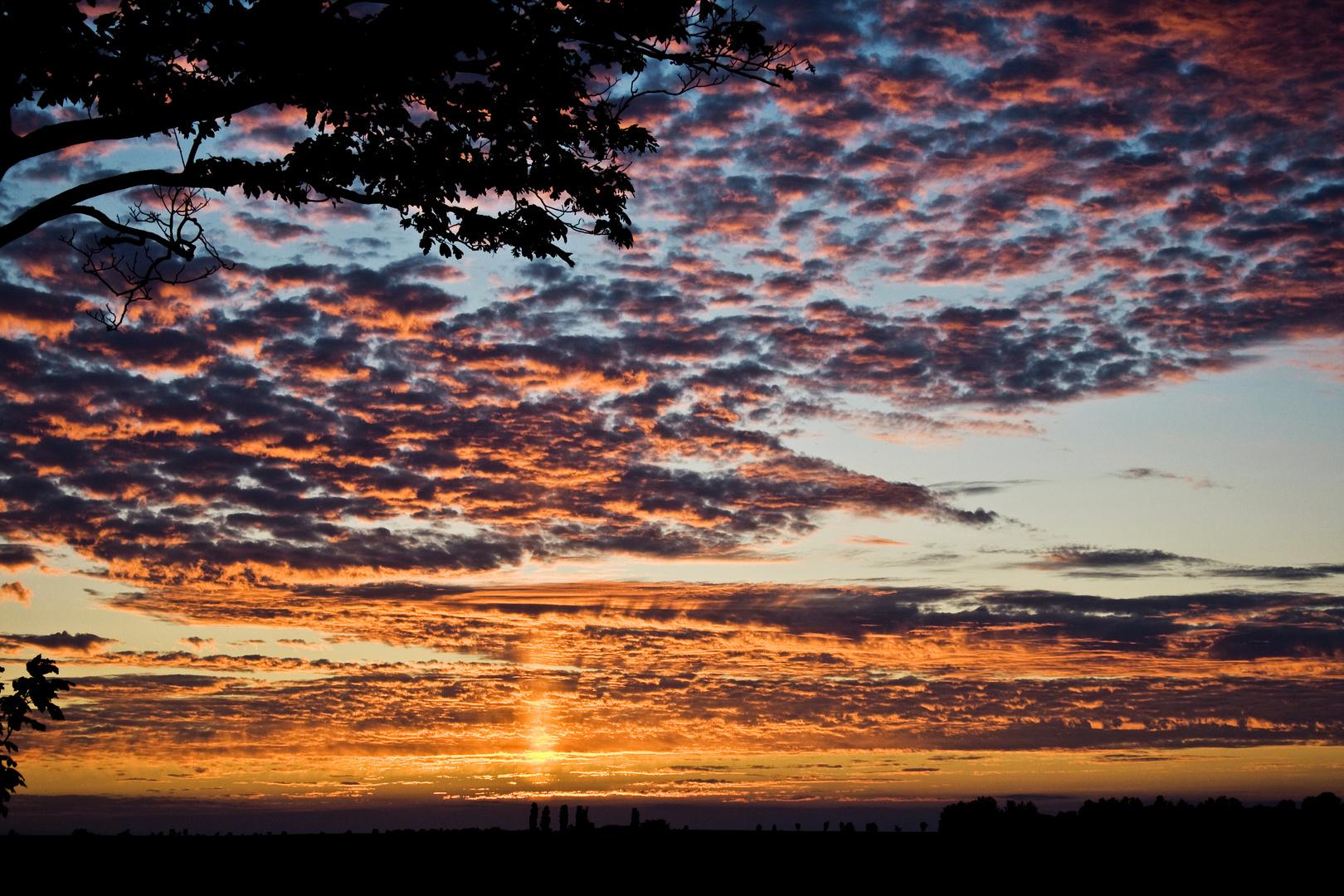 Sonnenuntergang auf Rügen :)