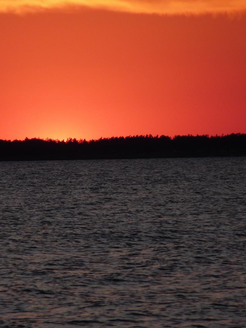 Sonnenuntergang auf Rügen II