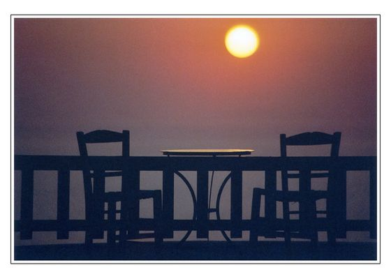 Sonnenuntergang auf Santorin I.