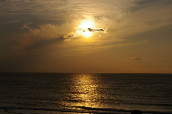Sonnenuntergang auf Sylt - 1 -