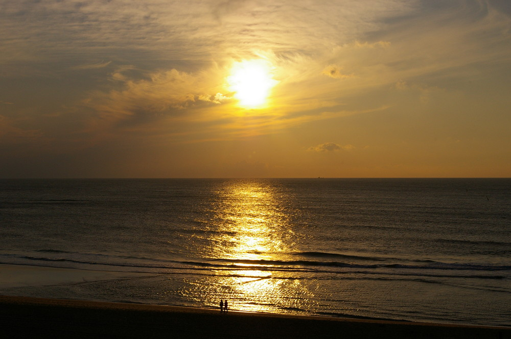 Sonnenuntergang auf Sylt - 2 -