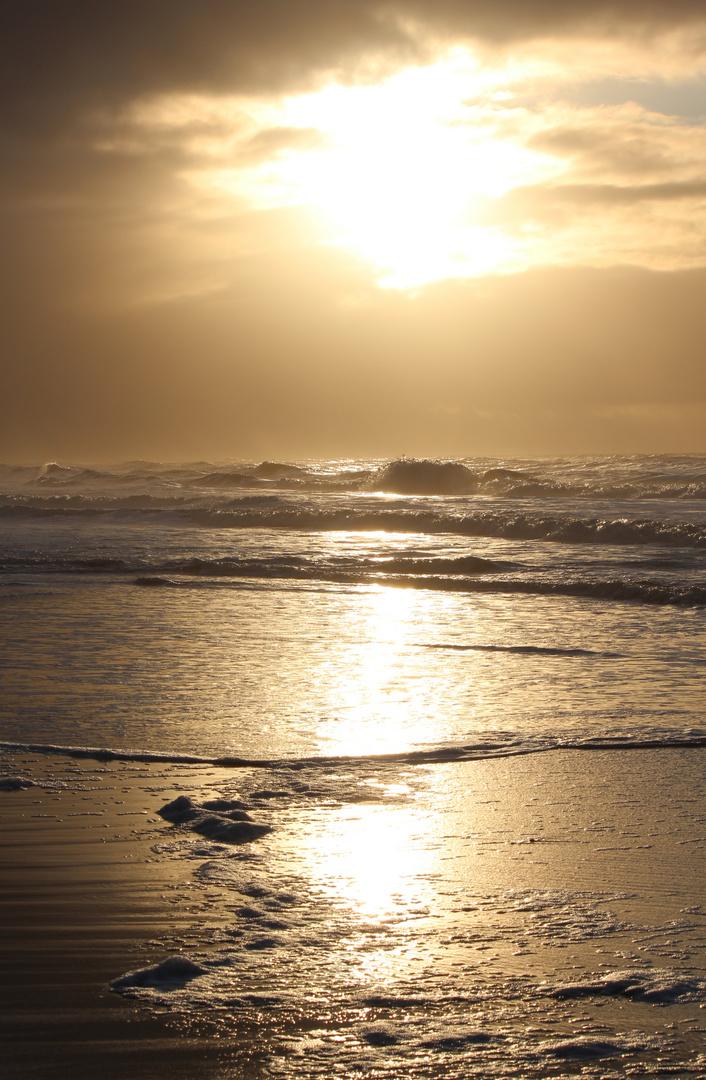 Sonnenuntergang auf Sylt 2