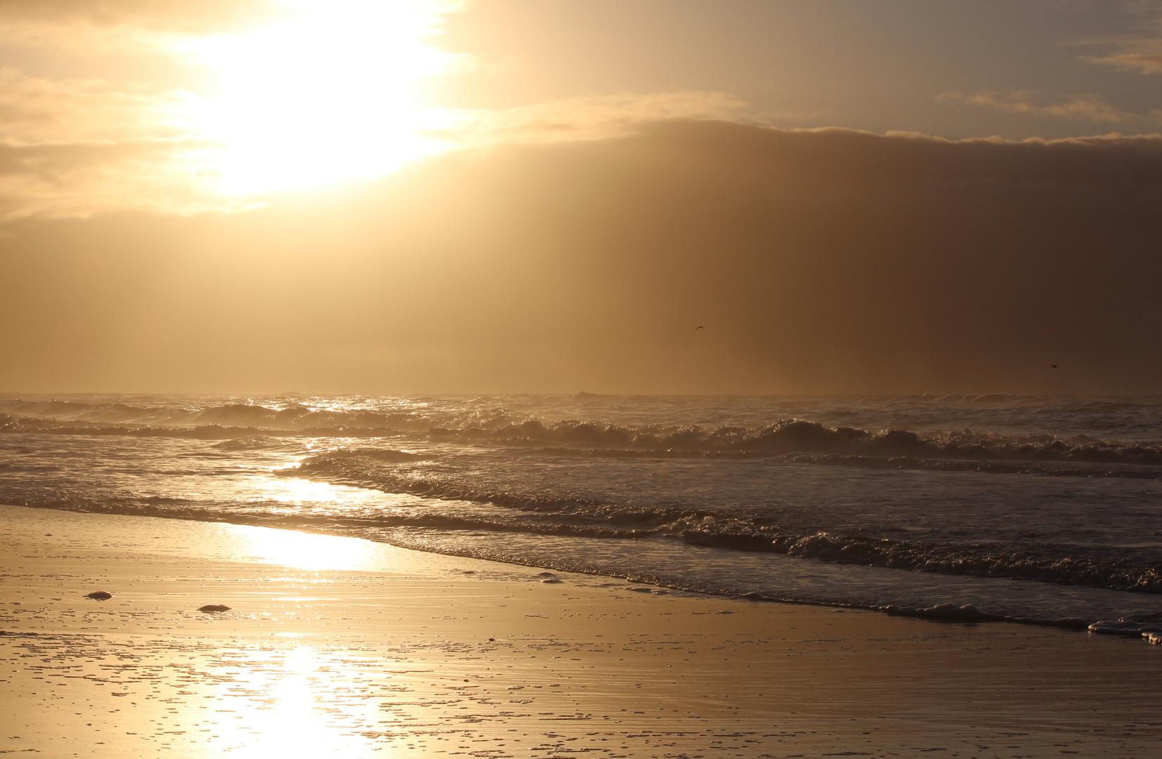 Sonnenuntergang auf Sylt 4