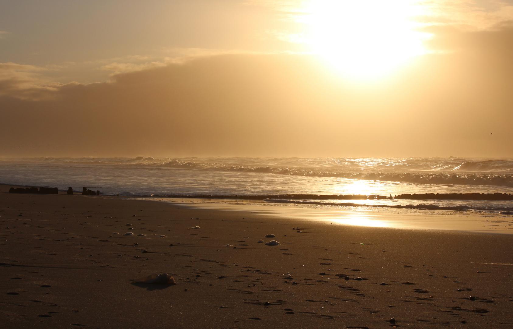 Sonnenuntergang auf Sylt 5