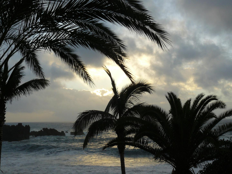 Sonnenuntergang auf Teneriffa