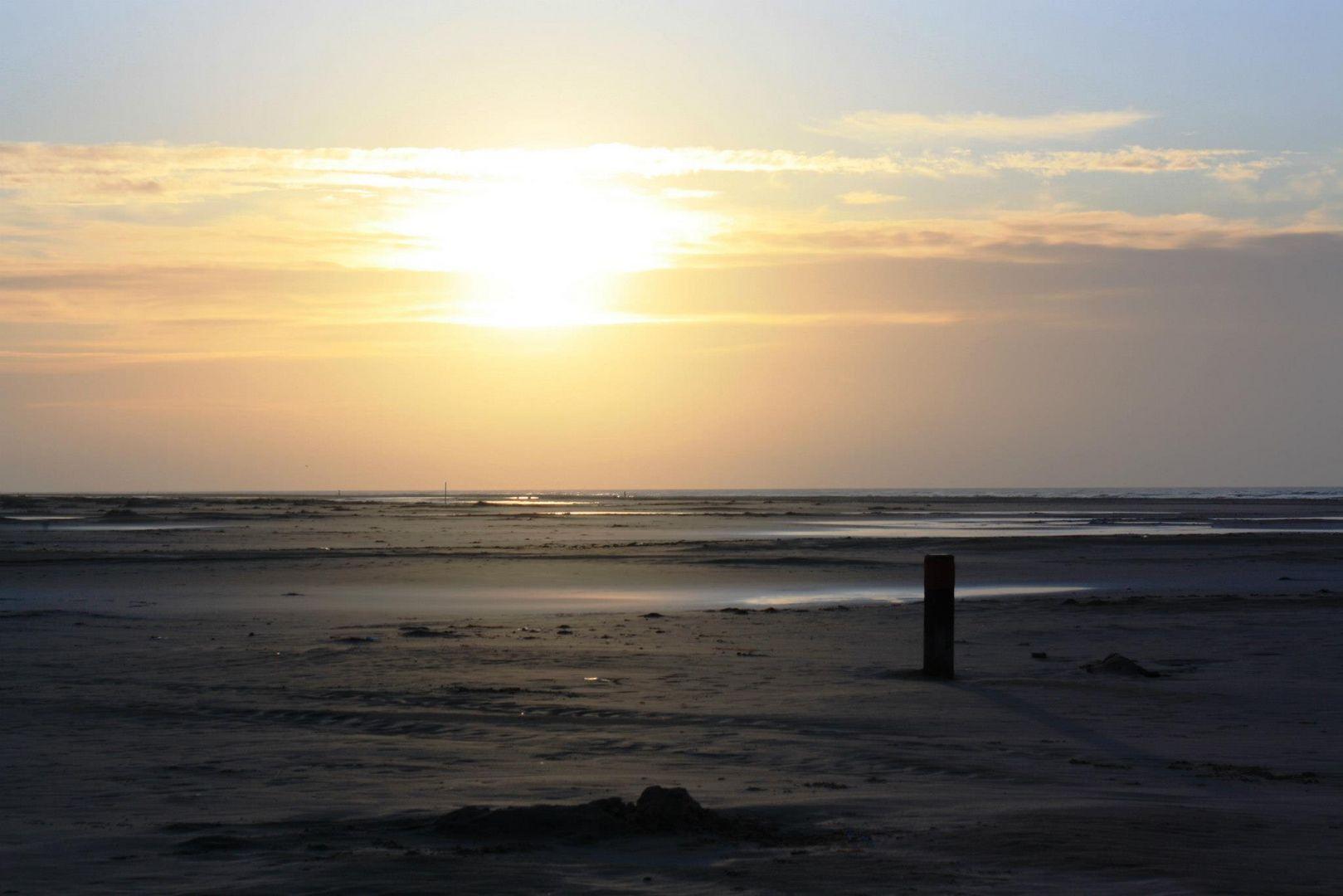 Sonnenuntergang auf Terschelling