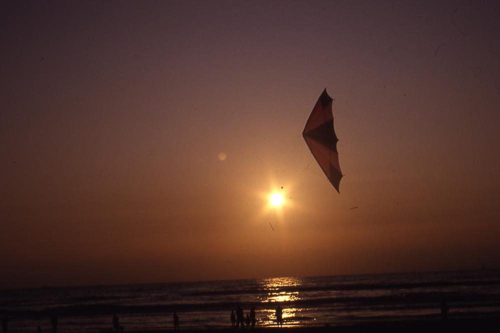 Sonnenuntergang auf Texel (1994)