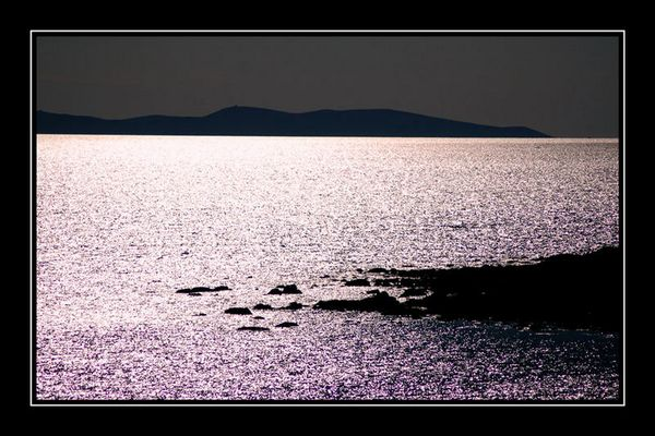 Sonnenuntergang auf Vir