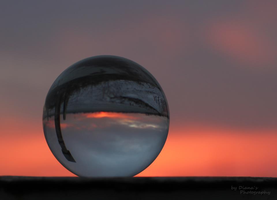 Sonnenuntergang aus einer anderen Perspektive