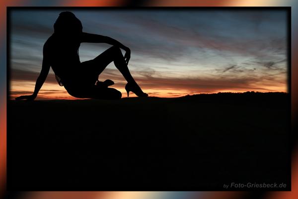 *Sonnenuntergang....