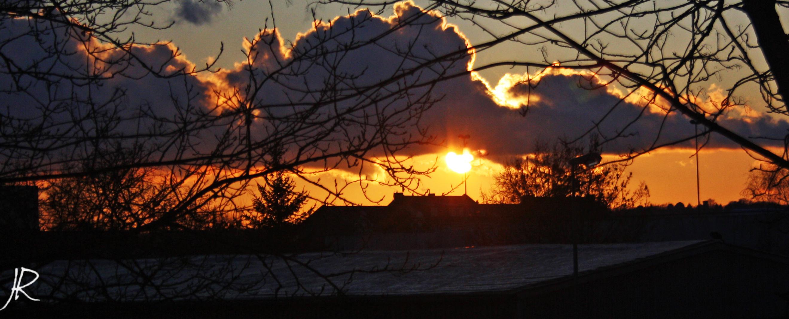 Sonnenuntergang Babelsberg