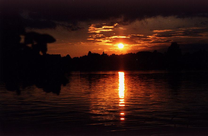Sonnenuntergang / Babelsberger Park