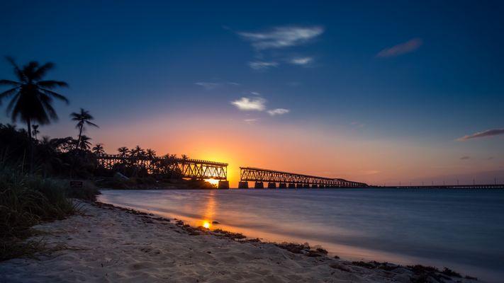Sonnenuntergang Bahia Honda State Park
