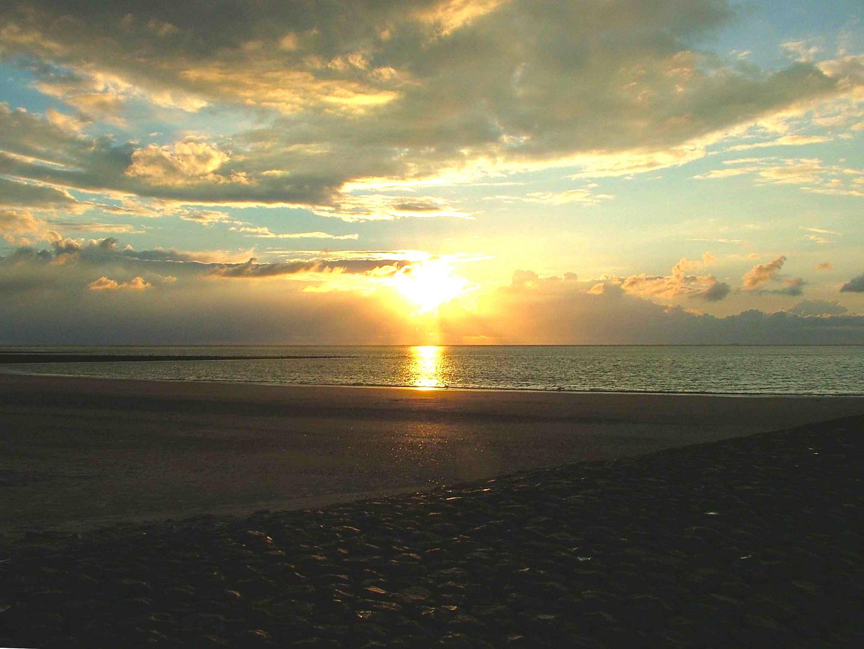 Sonnenuntergang Baltrum