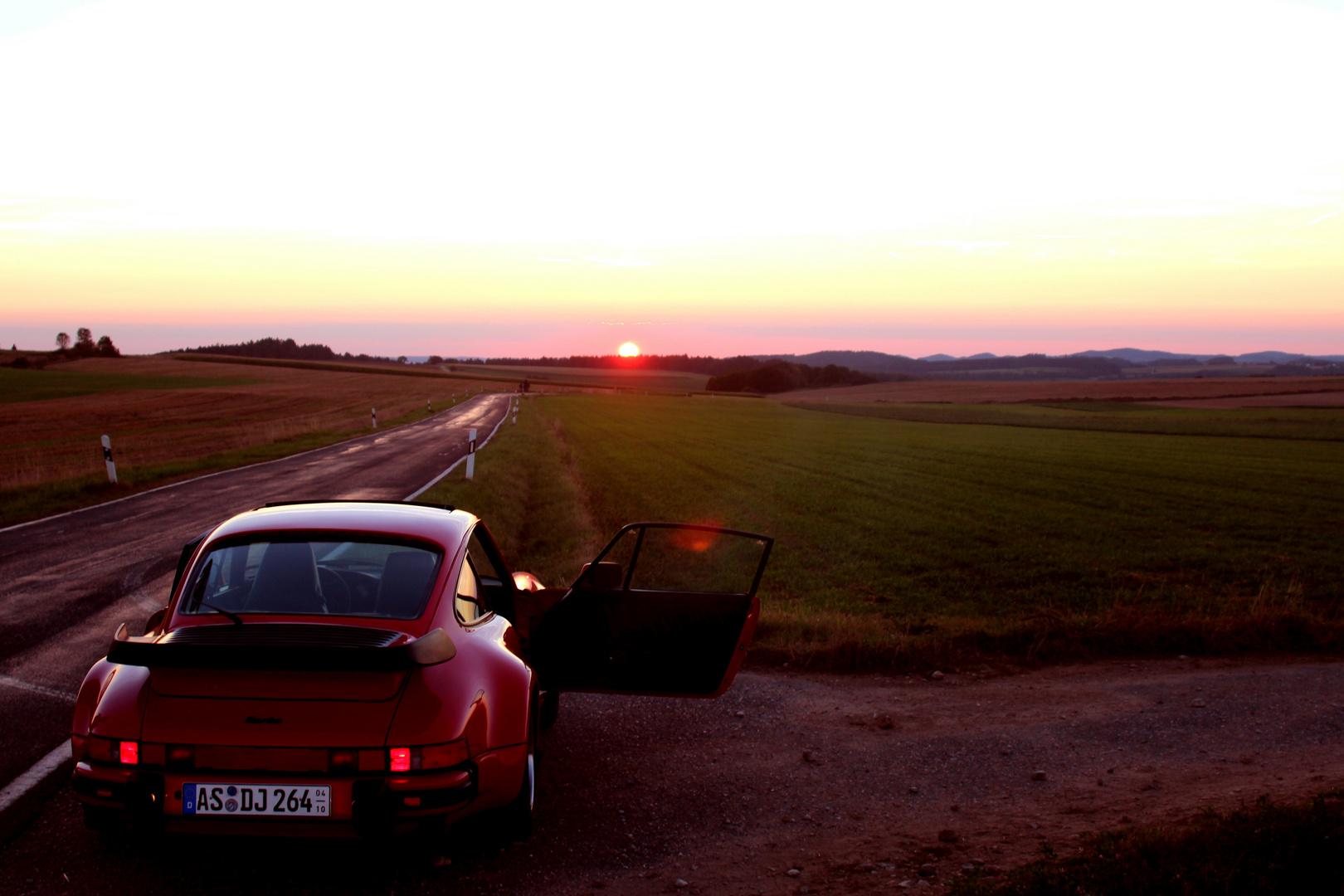 Sonnenuntergang bei Altzirkendorf