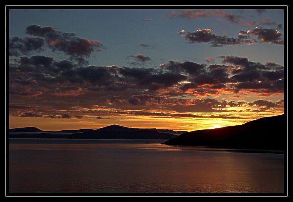Sonnenuntergang bei Applecross
