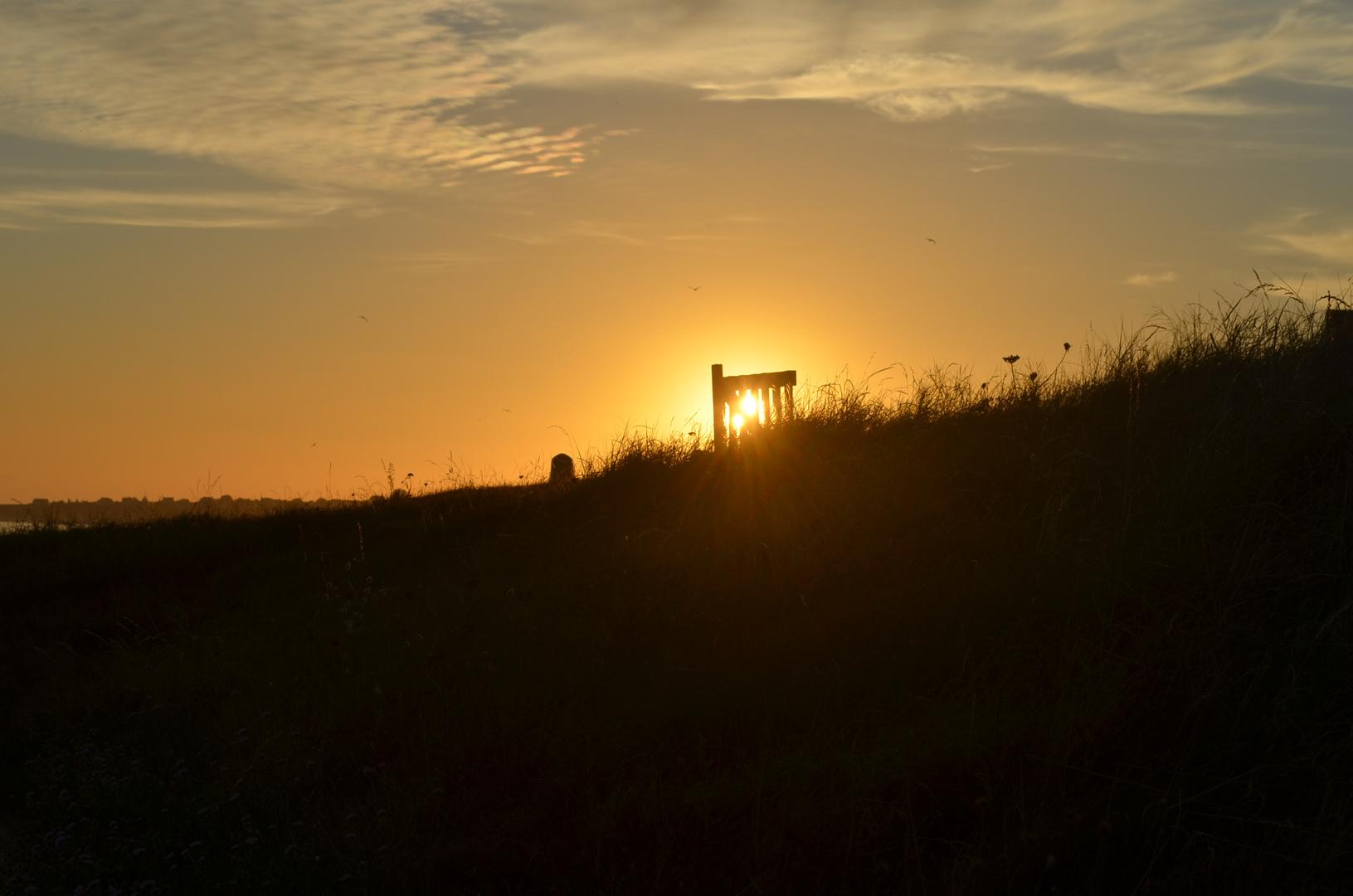 Sonnenuntergang bei Audierne