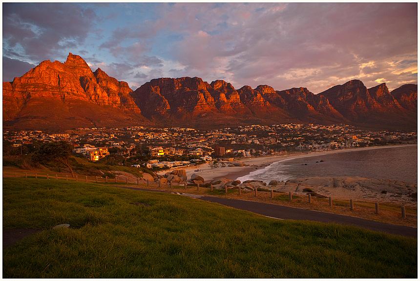 Sonnenuntergang bei den 12 Apostel