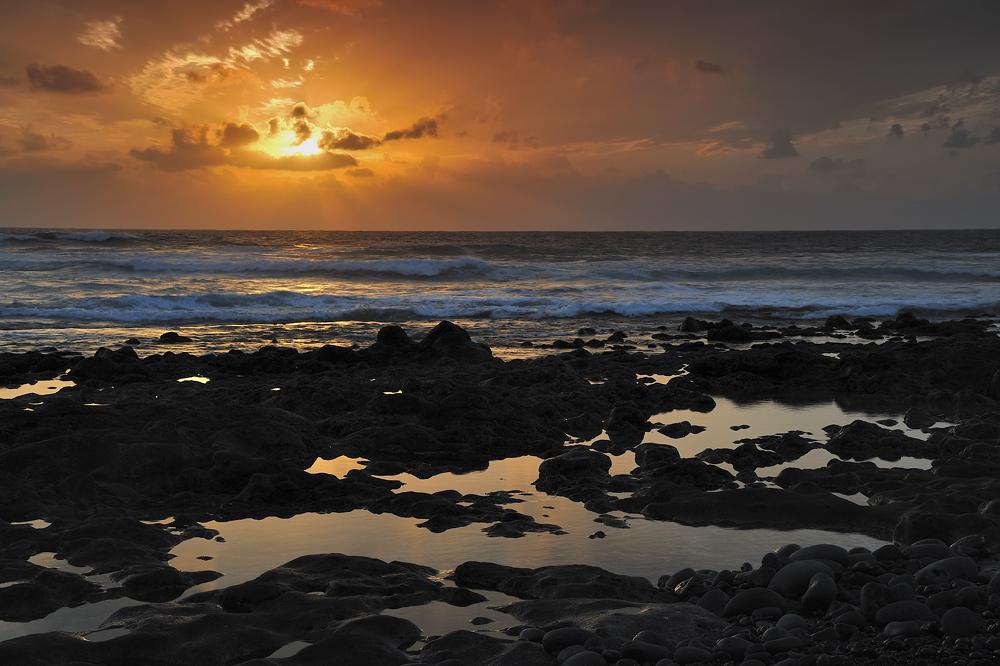 *Sonnenuntergang bei El Golfo*