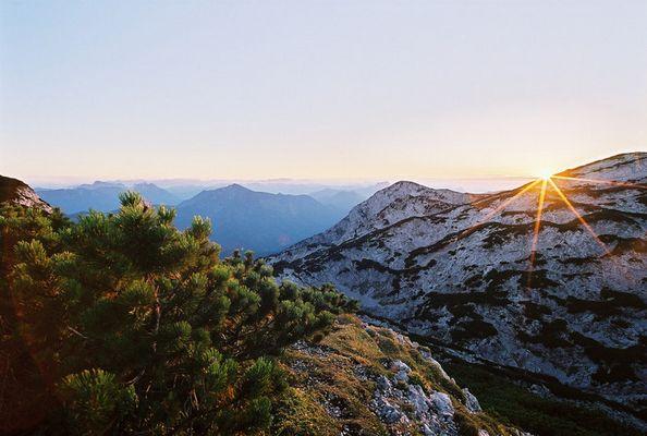 Sonnenuntergang bei Elisabeth