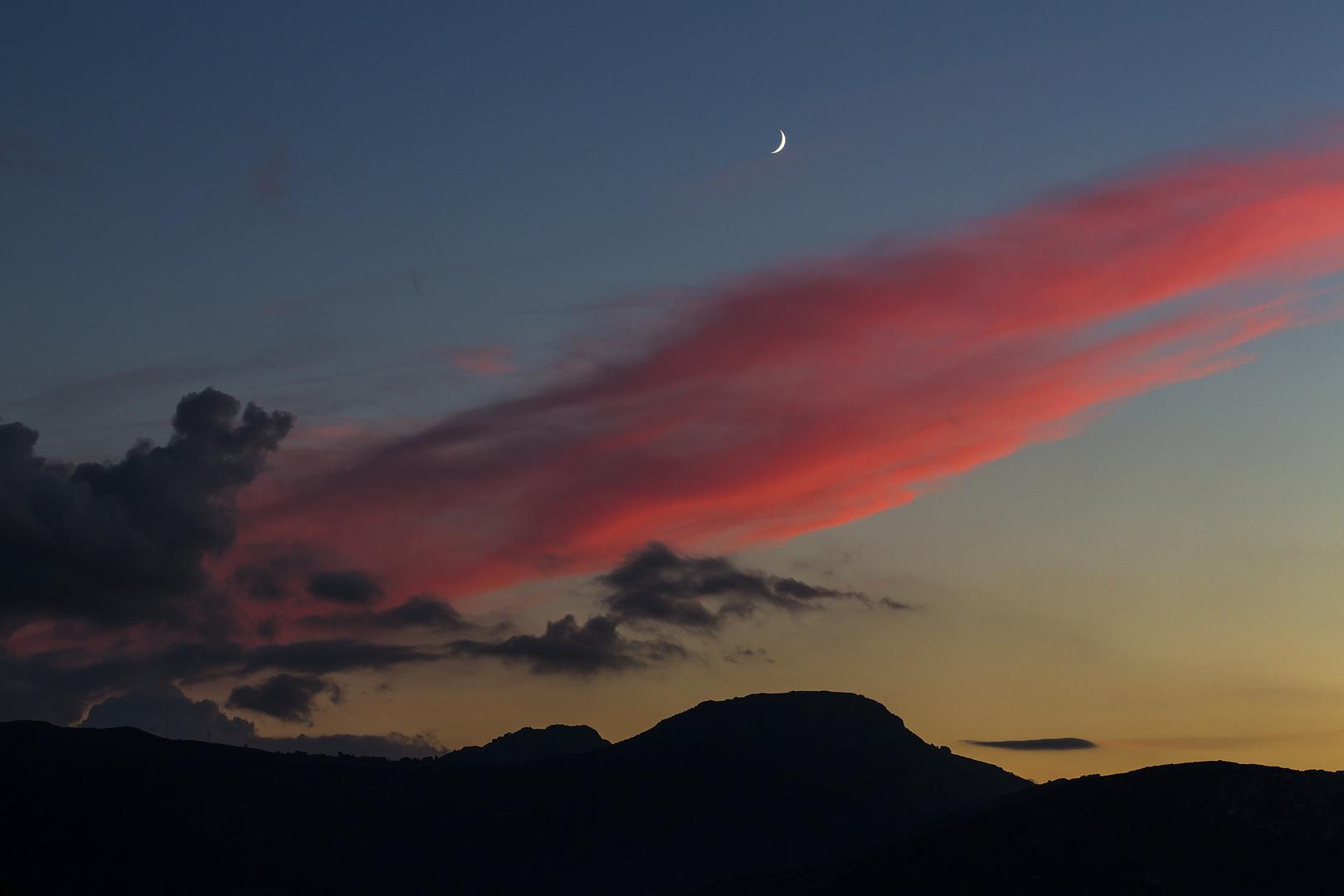 Sonnenuntergang bei Ile Rousse