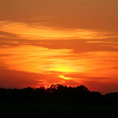 Sonnenuntergang bei Kötzlin / BRB