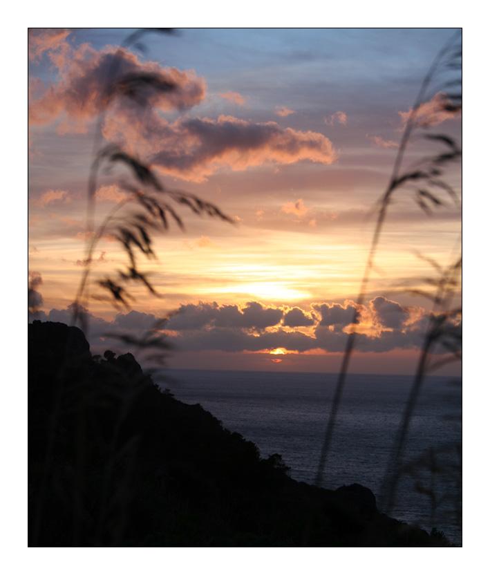 Sonnenuntergang bei Port de Soller