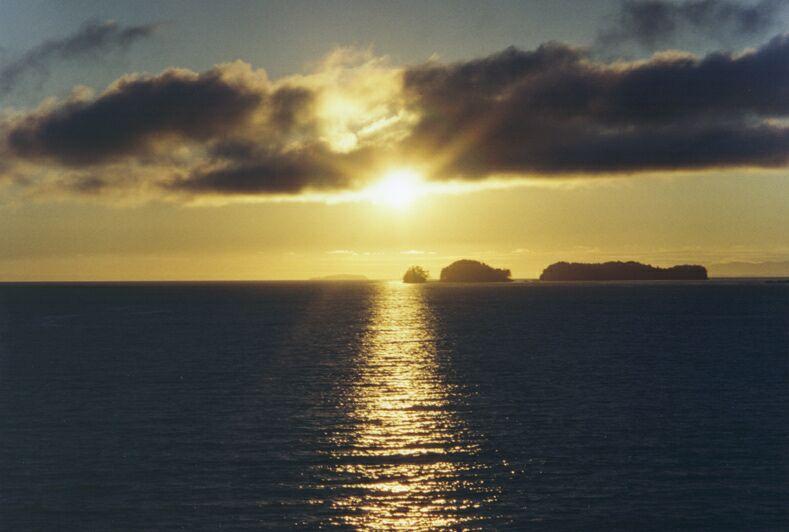 Sonnenuntergang bei Prince Rupert