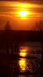 Sonnenuntergang Berlin Tegel