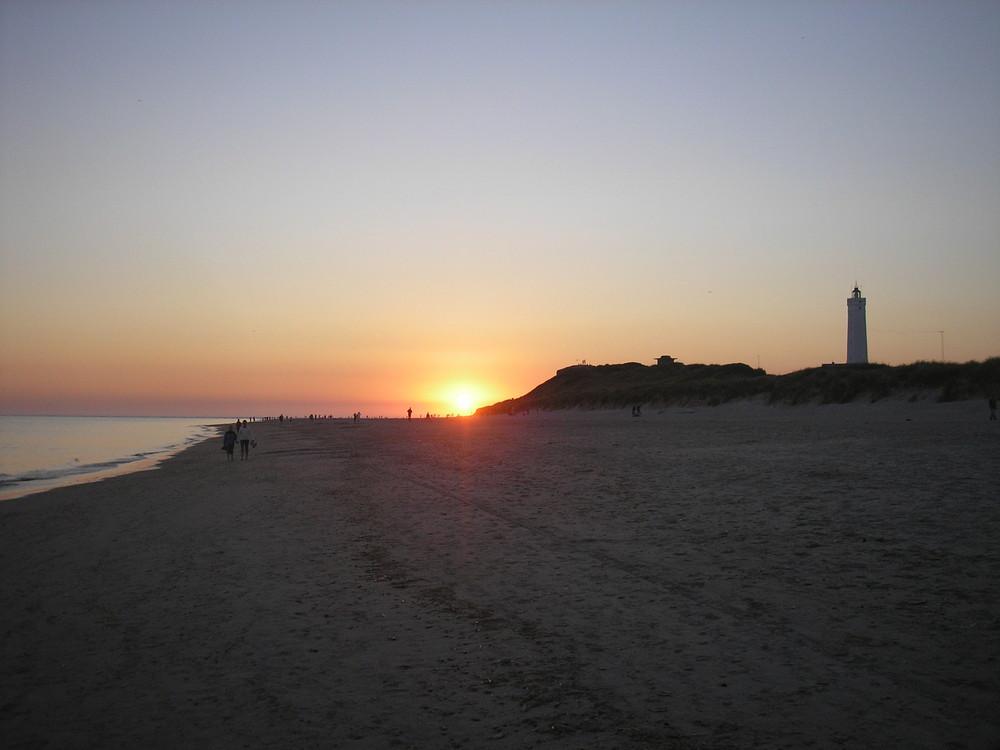 Sonnenuntergang Blavandshuk