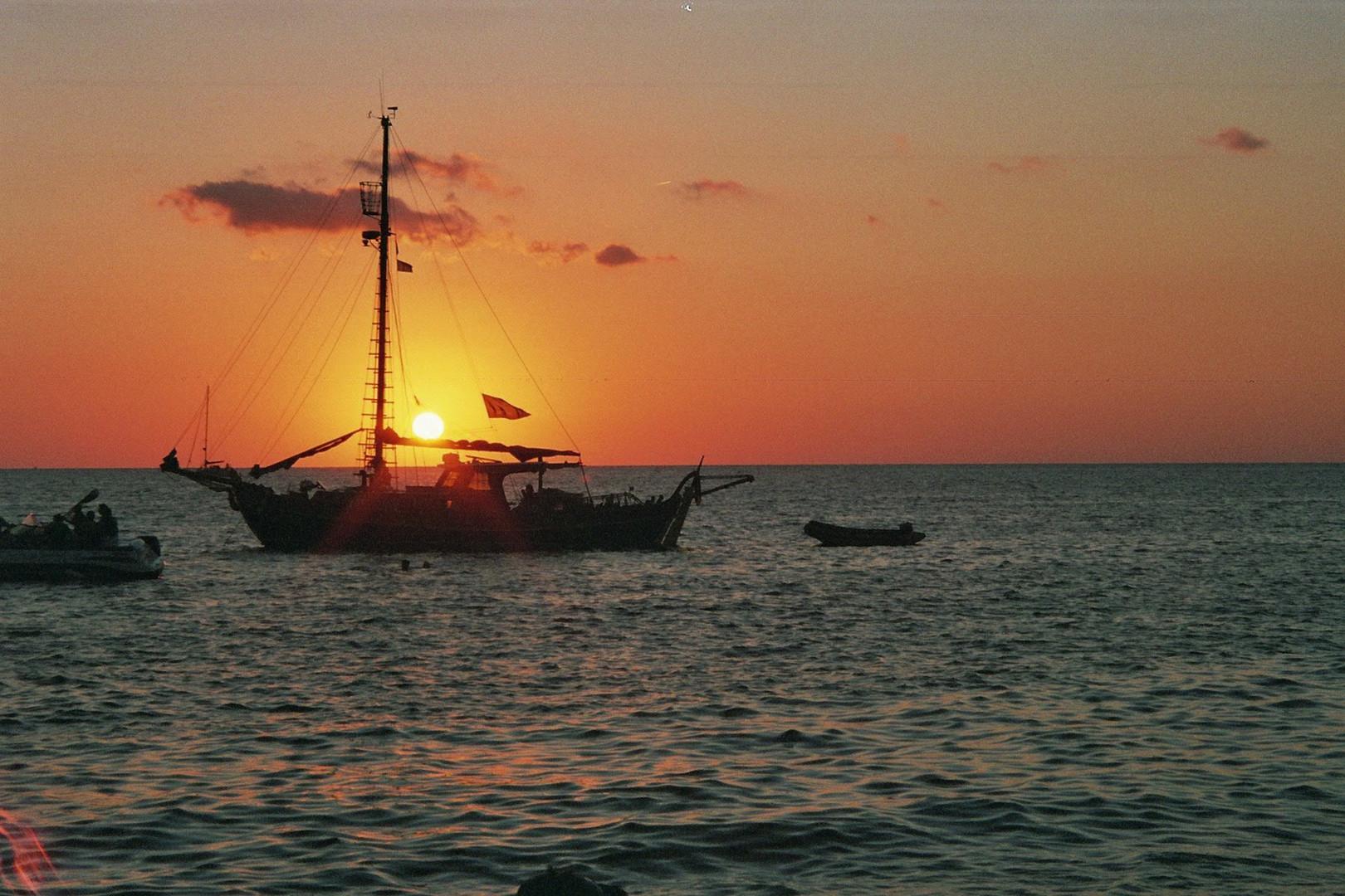 Sonnenuntergang Cafe del Mar