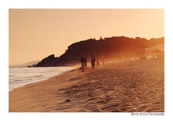 Sonnenuntergang Calella