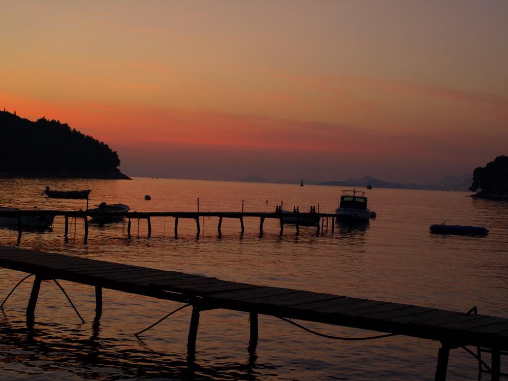 Sonnenuntergang Cavtat