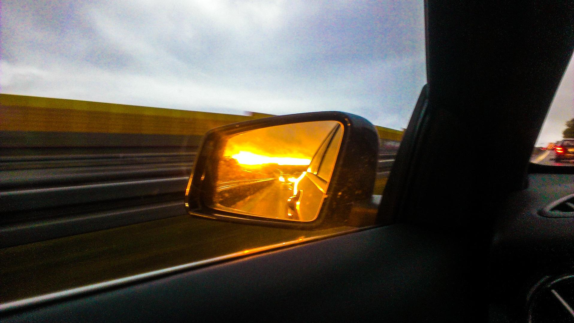 Sonnenuntergang Chemnitz