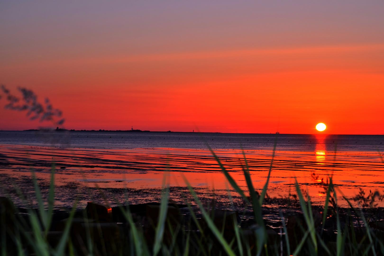 Sonnenuntergang Cuxhaven