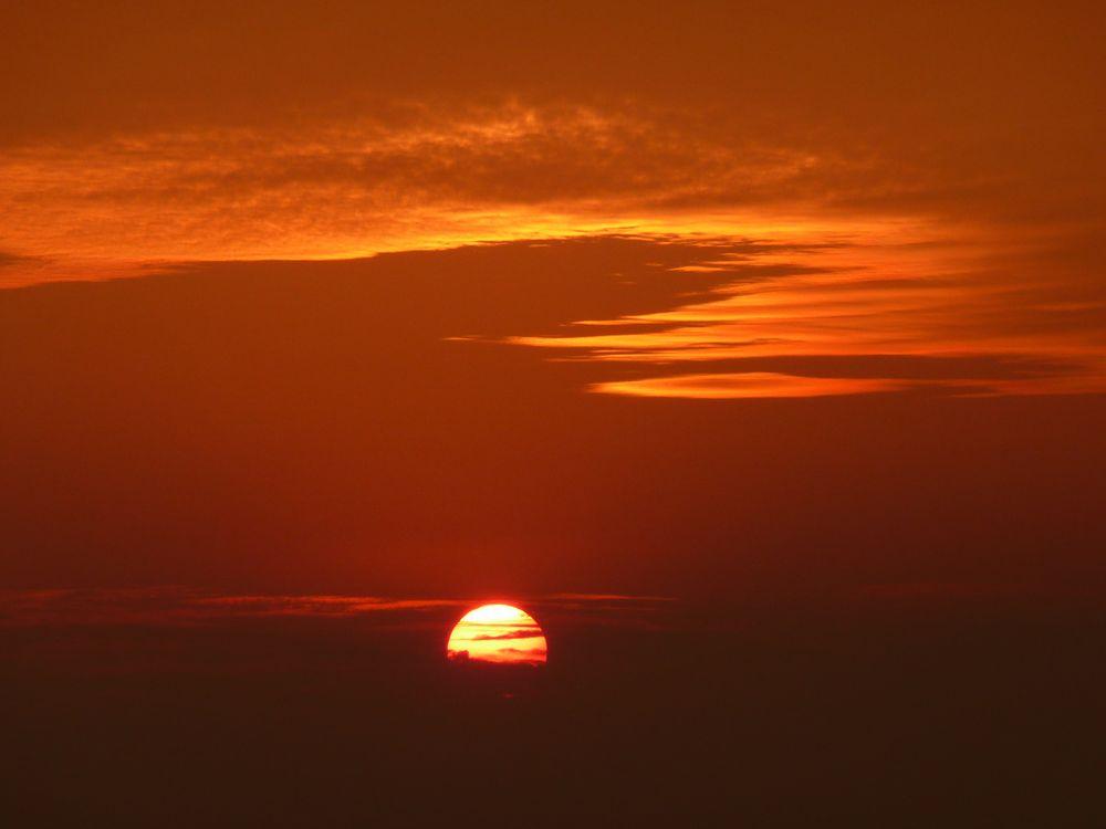 Sonnenuntergang von Nixwierunter