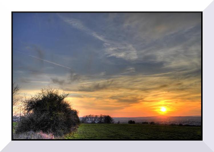 """ Sonnenuntergang """