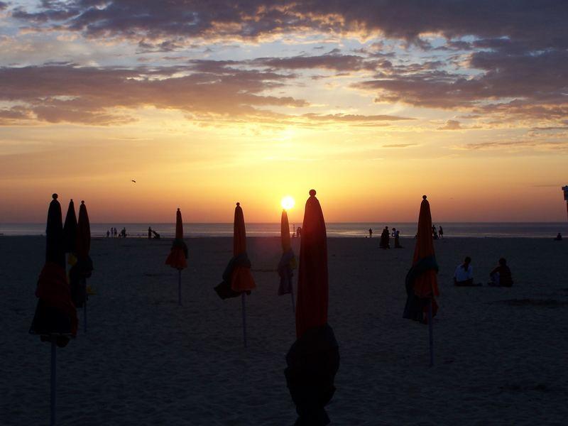 Sonnenuntergang, Deauville